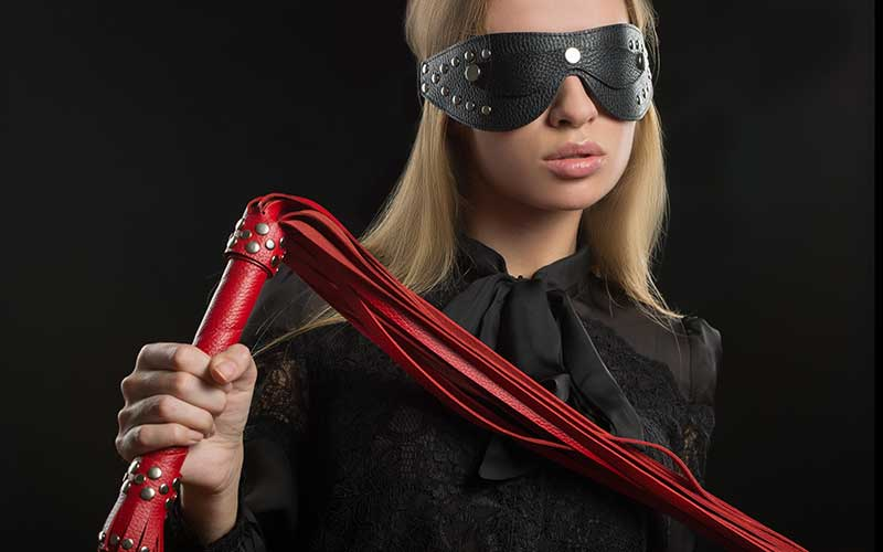 She is whipping BDSM discipline